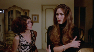 Maureen Byrnes and Mary Woronov